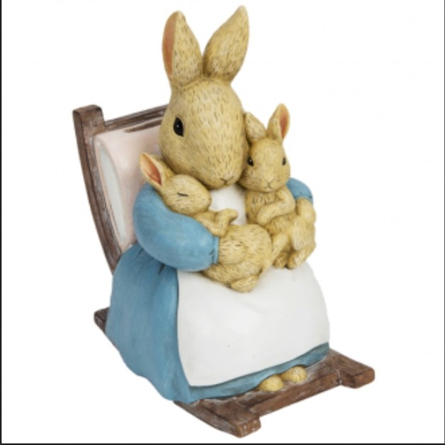 Beatrix Potter: Moneybox - Peter Rabbit Figure