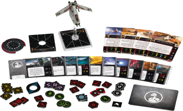 Star Wars X-Wing Second Edition LAAT/i Gunship Expansion Pack