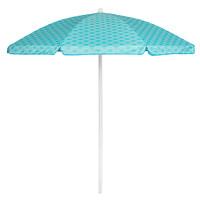 Picnic Time: 5.5 Ft. Umbrella - Mermaid Teal