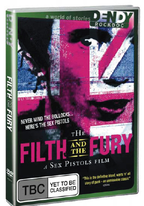 The Filth and The Fury on DVD image