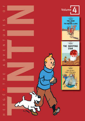 The Adventures of Tintin: Volume 4 by Herge