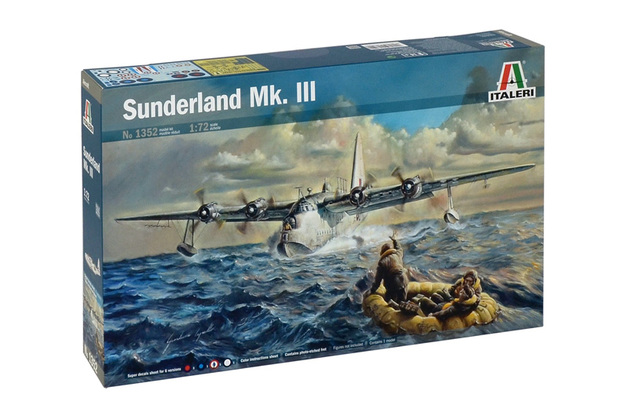Italeri Sunderland Mk.III 1:72 Scale Model Kit