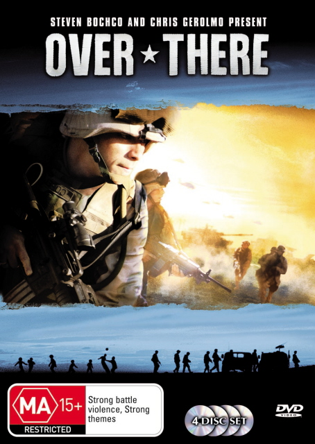 Over There - Season 1 (4 Disc Set) on DVD image