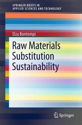 Raw Materials Substitution Sustainability by Elza Bontempi