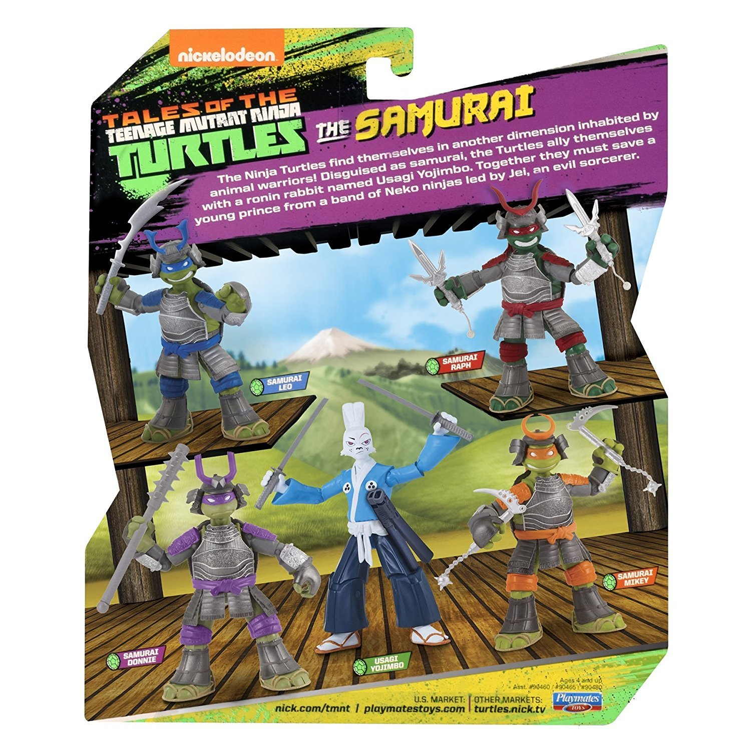 TMNT: Basic Action Figure - Samurai Mikey image