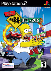 The Simpsons Hit & Run for PlayStation 2