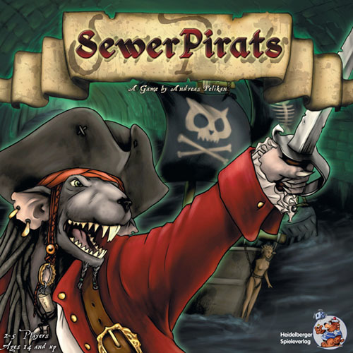 Sewer Pirats - Board Game image