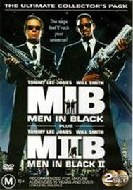 Men In Black and Men In Black II (2 Disc Set) on DVD