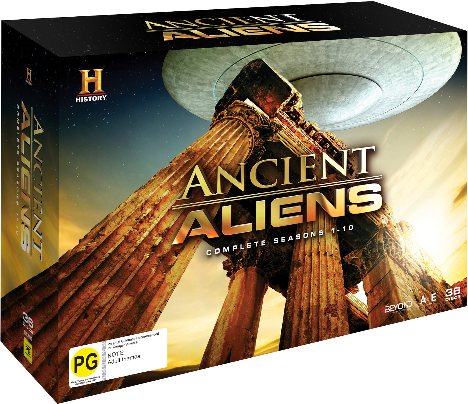 Ancient Aliens - Seasons 1-10 (Complete Collection) on DVD image