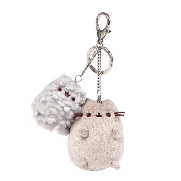 Pusheen And Stormy Deluxe Keychain Clip image