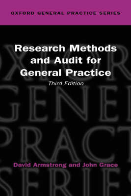 Research Methods and Audit in General Practice by David Armstrong image