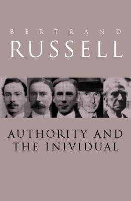 Authority and the Individual by Bertrand Russell image