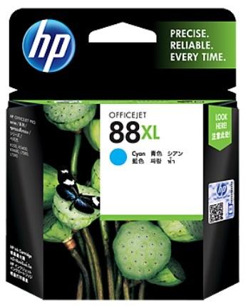 HP 88XL Ink Cartridge C9391A (Cyan)