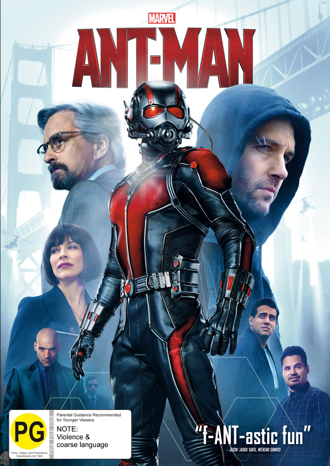 Ant-Man on DVD image