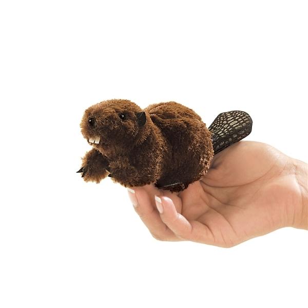 Folkmanis Mini Finger Puppet - Beaver