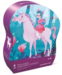 Crocodile Creek: Unicorn Forest Puzzle - 36pc