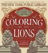 Coloring in the Lions by Alexis Seabrook