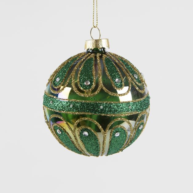 Green Envy Arabian Bauble