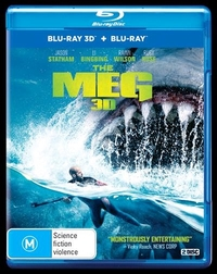 The Meg on 3D Blu-ray