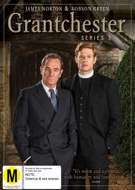 Grantchester Season 3 on DVD image