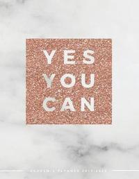 Yes You Can Academic Planner 2019-2020 by Pop Academic