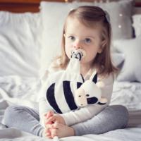 Sleepytot: No More dummy Runs (Black & White cow)
