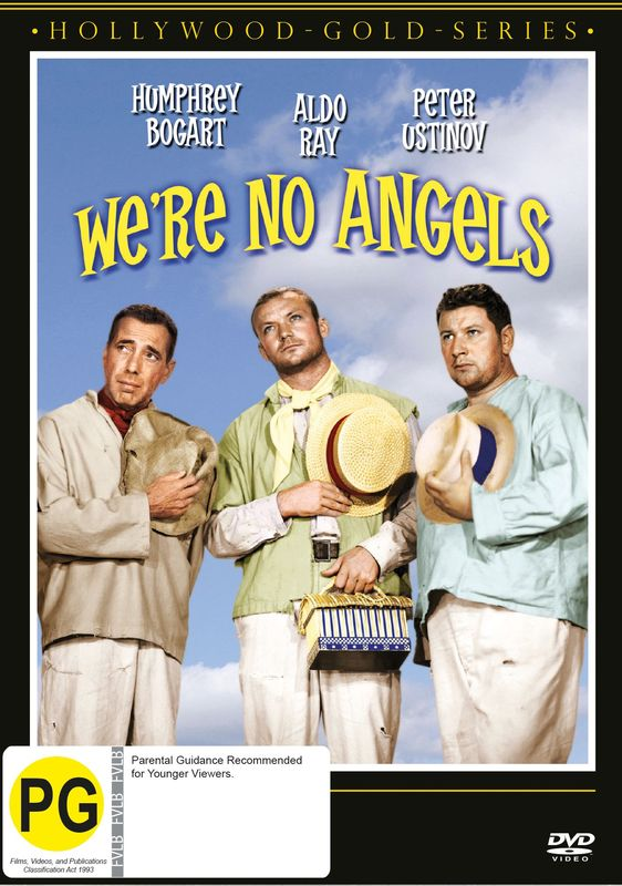 We're No Angels on DVD