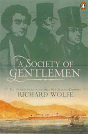 A Society of Gentlemen by Richard Wolfe image