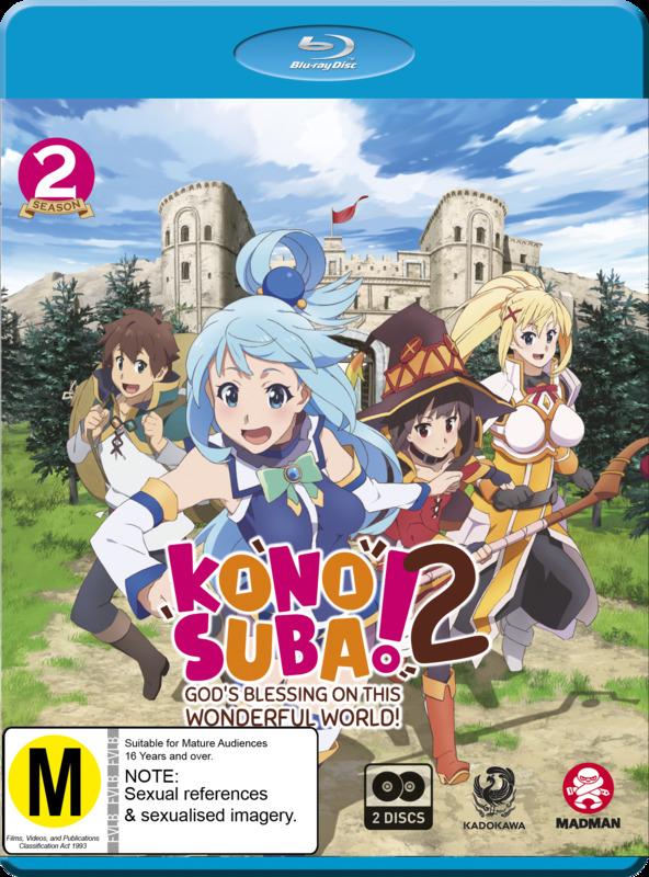 Konosuba - God's Blessing On This Wonderful World!: Season 2 on Blu-ray