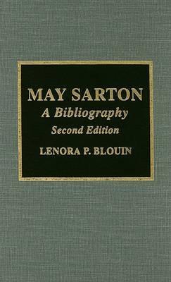 May Sarton by Lenora P. Blouin image