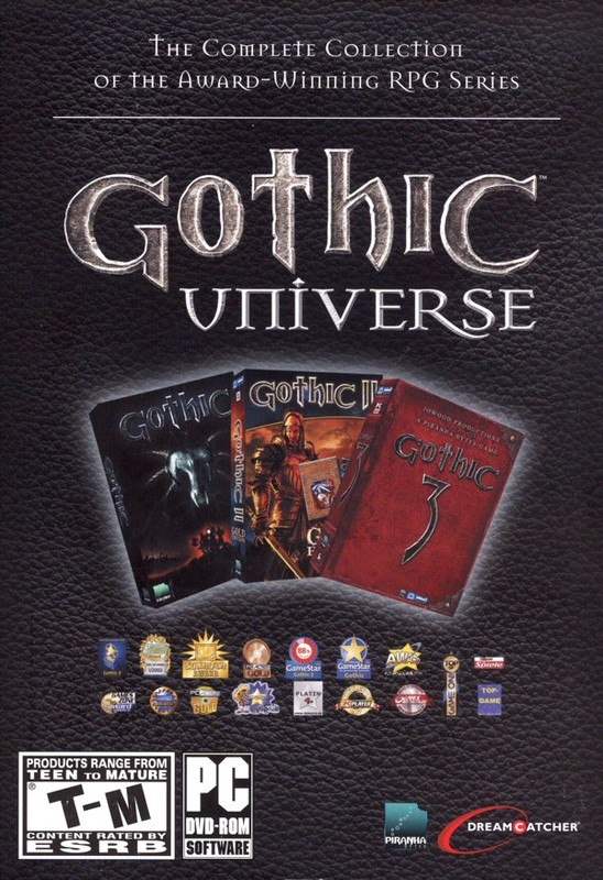 Gothic Universe (4 games!) for PC Games