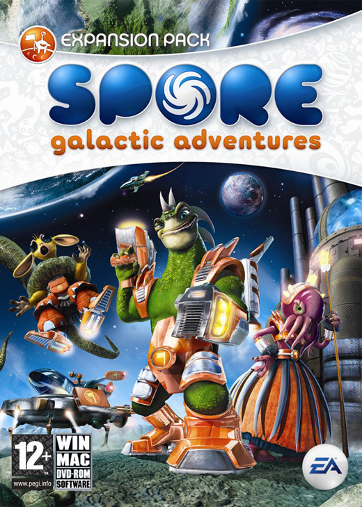 Spore: Galactic Adventures for PC Games