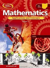 Oh Mathematics: Applications and Concepts, Course 1, Student Edition by McGraw Hill image