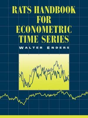 RATS Handbook for Econometric Time Series by Walter Enders image