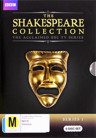 BBC The Shakespeare Collection - Series 1 on DVD