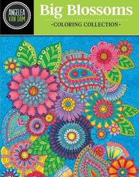 Hello Angel Big Blossoms Coloring Collection by Angelea Van Dam