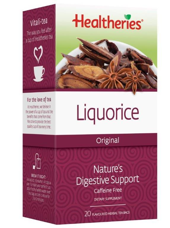 Healtheries Liquorice Tea (Pack of 20) image