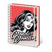 Wonder Woman: A5 Notebook - Red