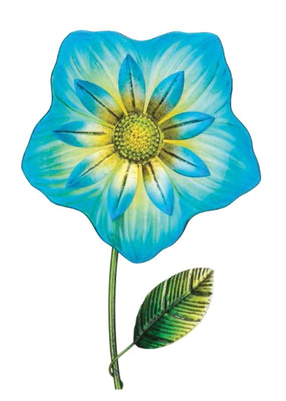 Regal Art & Gift: Fiesta Flower Stake - Blue