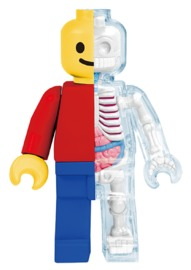 XXRAY: Brick Man Classic - Vinyl Figure