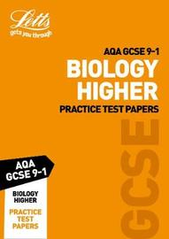 AQA GCSE Biology Higher Practice Test Papers by Letts GCSE image