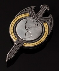 Star Trek: TNG Mirror Universe - Magnetic Badge