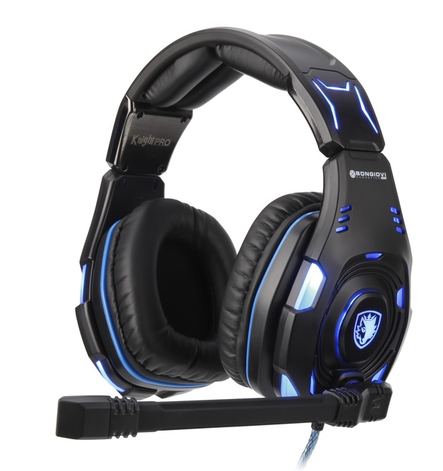 SADES Knight Pro Gaming Headset for PC