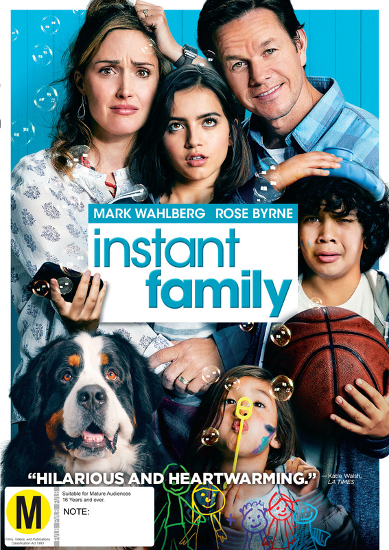 Instant Family on DVD