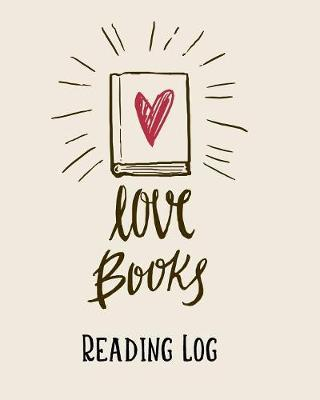 Reading Log by Paper Kate Publishing