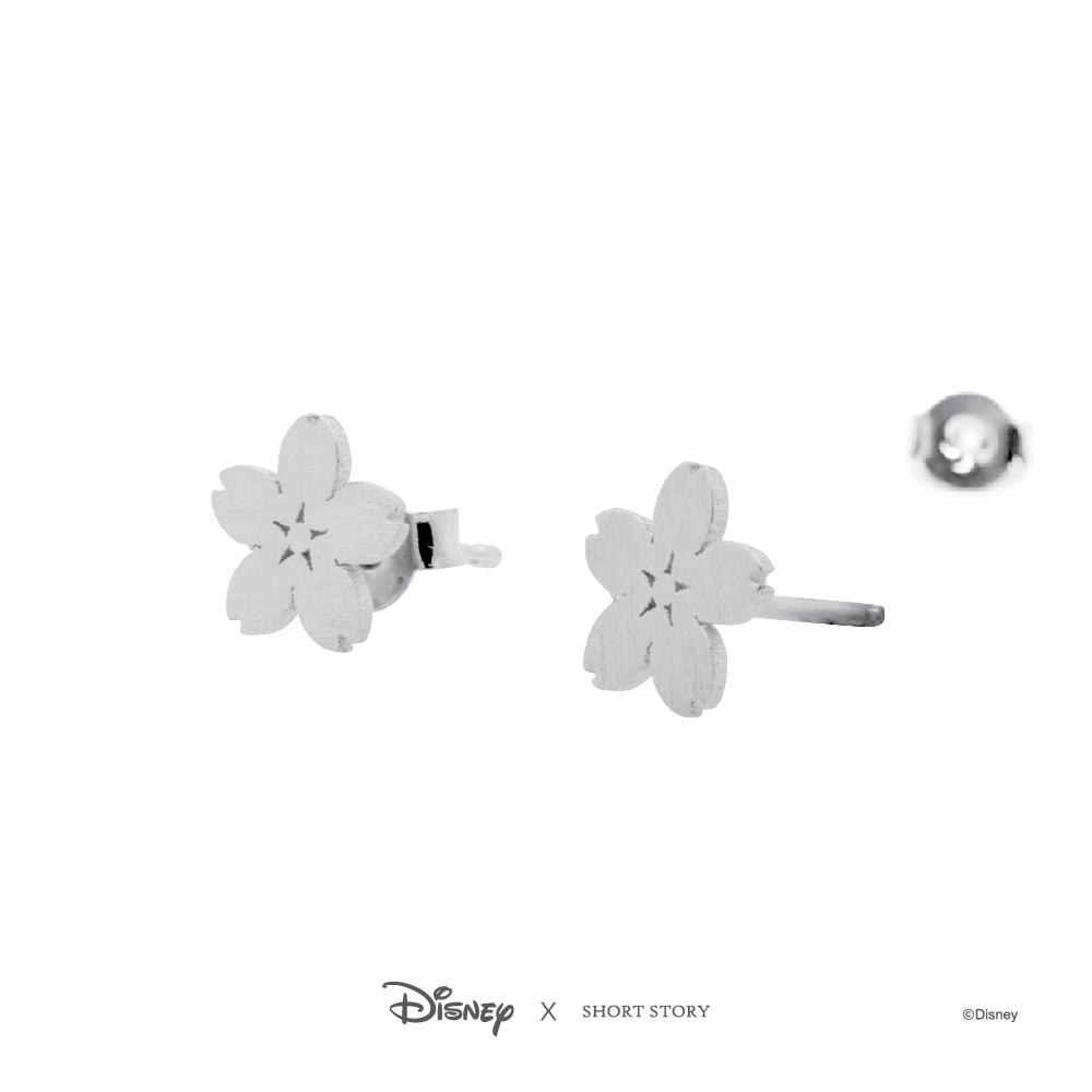 Disney Earring Mulan Sakura - Silver image