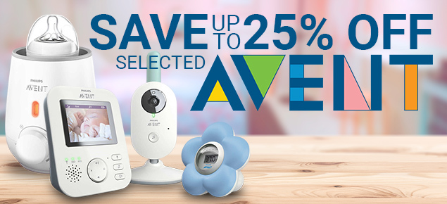 Avent Sale - Up to 25% Off