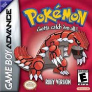 Pokemon Ruby for GBA