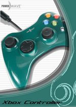 Powerwave 360 Shape Solid Green for Xbox