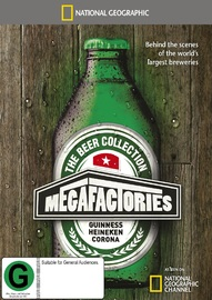 National Geographic: Megafactories - The Beer Collection on DVD image